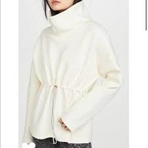 Varley NEW Barton Sweatshirt Cream Pullover XL